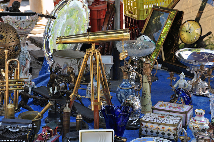 Antiques and Vintage Telescope